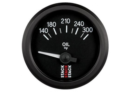 STACK 52mm Electric Oil Temperature Gauge - 140-300F