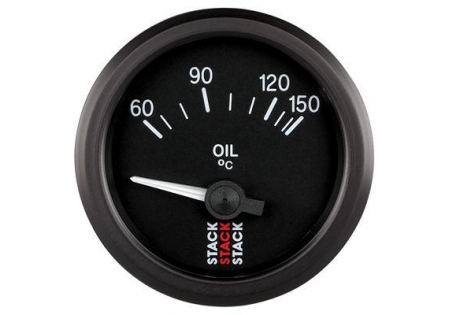 STACK 52mm Electric Oil Temperature Gauge - 60-150C