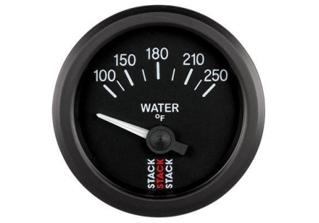 STACK 52mm Electric Water Temperature Gauge - 100-250F