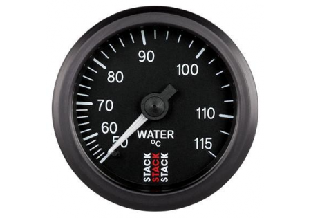 STACK 52mm Mechanical Water Temperature Gauge - 50-115C