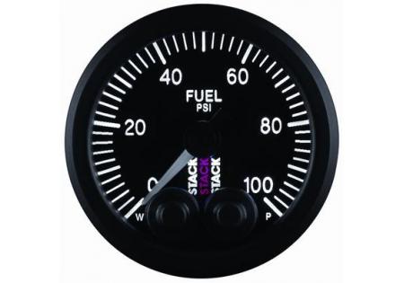 STACK 52mm Pro-Control Fuel Pressure Gauge - 0-100 psi