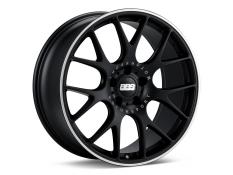 BBS CH-R Wheel Satin Black Polished Rim Protector