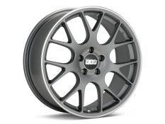 BBS CH-R Wheel Satin Titanium Polished Rim Protector