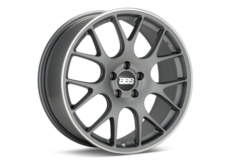 BBS CH-R Wheel Satin Titanium Polished Rim Protector