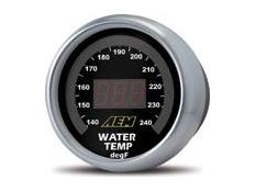 AEM Temperature Display Gauge