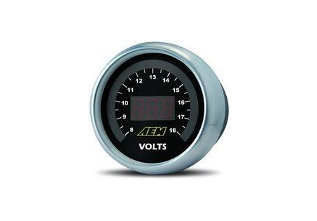 AEM Voltmeter Display Gauge