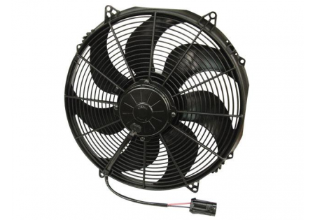 SPAL 16'' Curved Blade Extreme Performance Fan 12V Puller