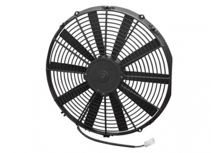SPAL 16'' Straight Blade Medium Profile Fan 12V Puller