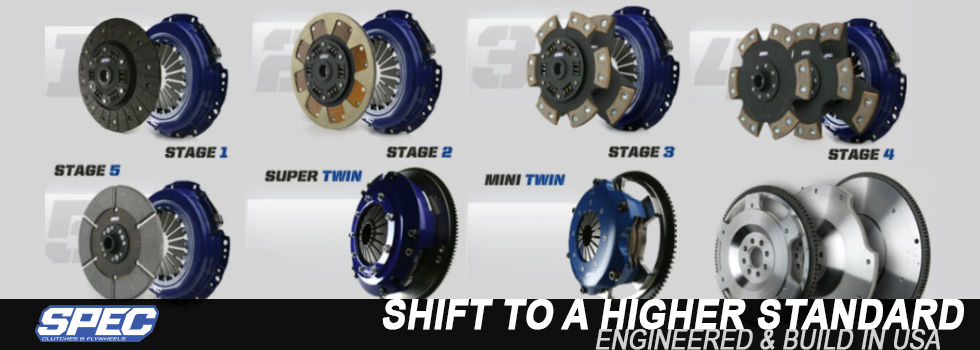 SPEC Clutch Kits & Flywheels